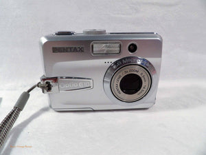 used digital cameras, used camera equipment, Pentax Optio E10 Camera,  photography student kit, small camera