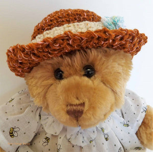 teddy bears picnic, vintage dressed bear, Australian teddy bears, soft toys, plush, vintage collection, soft toys