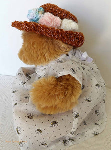 teddy bear clothes, teddy bears picnic, vintage dressed bear, Australian teddy bears, soft toys, plush, vintage collection, soft toys