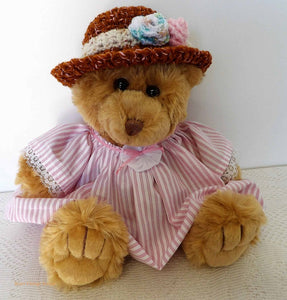 teddy bears picnic, vintage dressed bears, Australian teddy bear, plush toys, vintage collection, soft toy