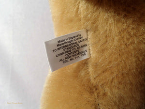Duke and Duchess of York wedding 1986 memorabilia, Vintage Merrythought teddy bear, The Wedding Bear, , collectible vintage bear, royal family memorabilia