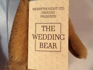 The Wedding Bear by Merrythought, Duke & Duchess of York 1986 memorabilia, vintage teddy bears au