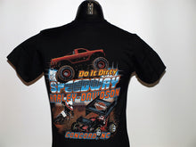 DIRT TRACK CUSTOM T-SHIRT BLACK