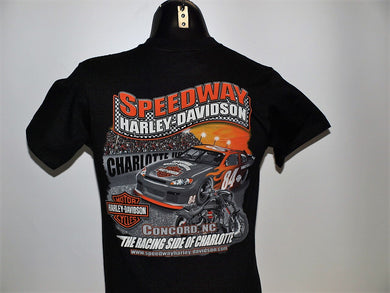RACE CAR CUSTOM T-SHIRT BLACK