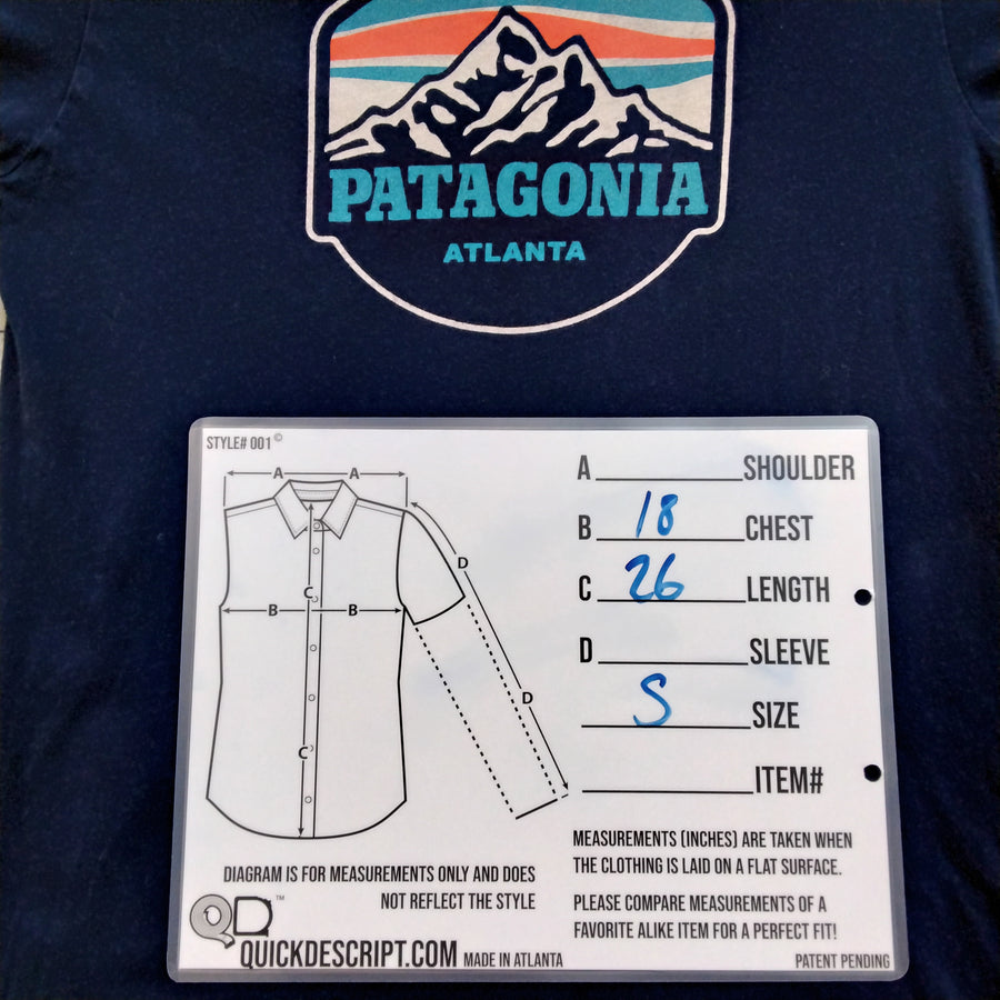 Patagonia Atlanta Edition T Shirt Mens Small - Beezy's Department Store