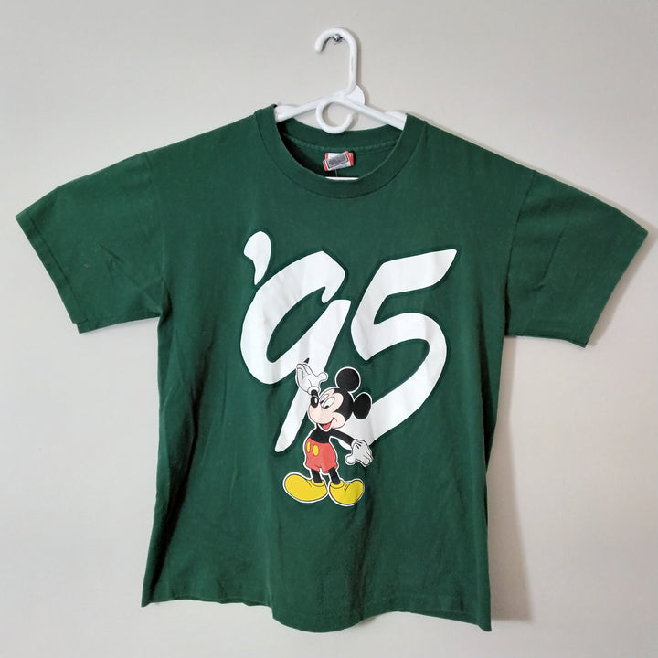 Vintage Mickey Mouse 95 Disney World T-Shirt Mens L - Beezy's Department Store