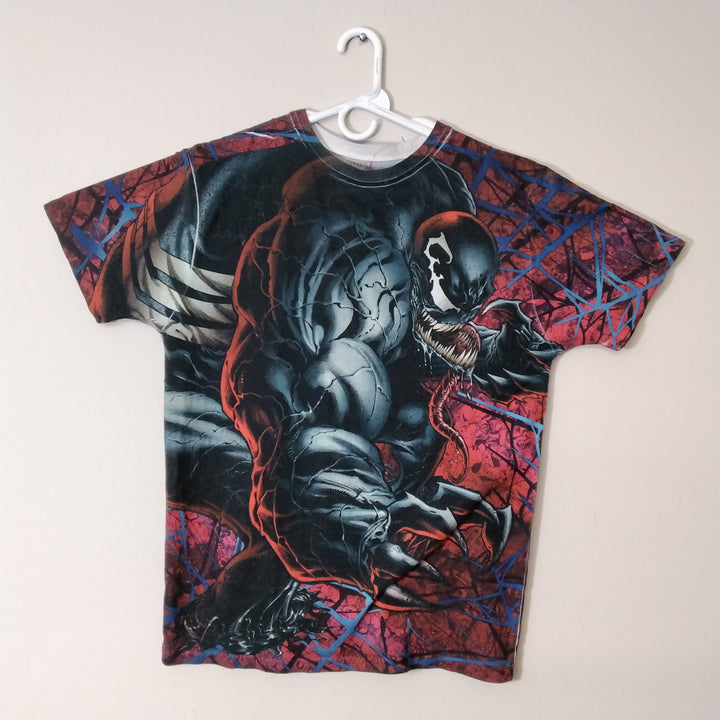 Marvel Venom All Over Print T-Shirt Mens Large - Beezy's Department Store