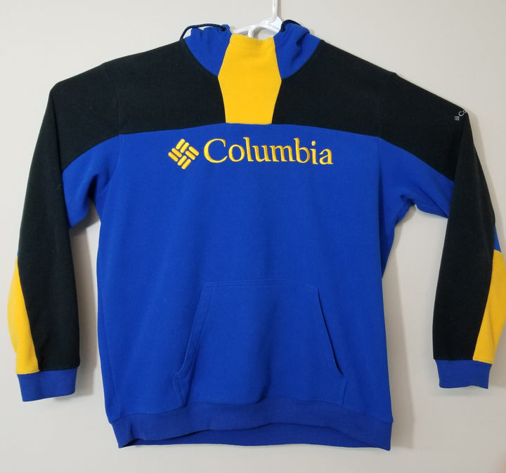 Vintage Columbia Fleece Sweatshirt Hoodie Spellout Pullover Mens 2XL - Beezy's Department Store