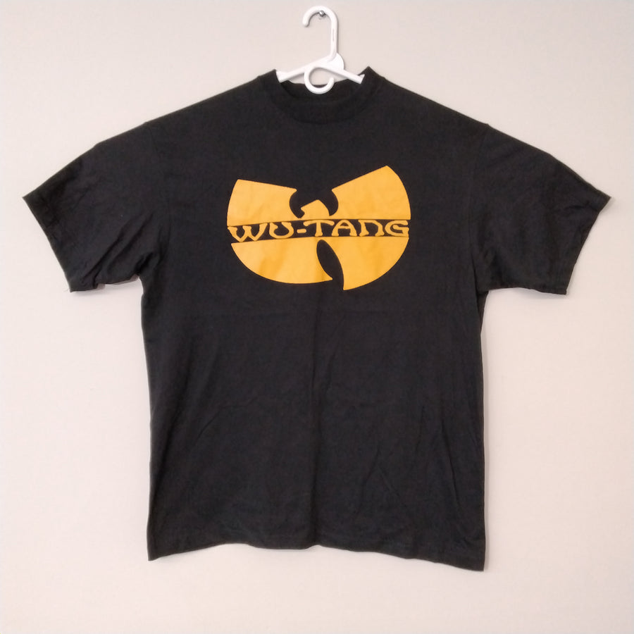 Vintage Wu Tang T-Shirt Rap Tee Black Yellow Men's 2XL - Beezy's Department Store