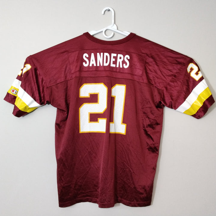 Vintage Washinton Redskins Deion Sanders Football Jersey Champion Mens 2XL - Beezy's Department Store