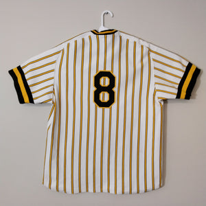 Mitchell and Ness Pittsburg Pirates Baseball Jersey Stargell #8 Mens XL - Beezy's Department Store