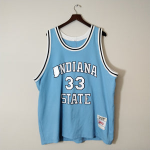 Indiana State Larry Bird College Jersey Mens 2XL - Beezy's Department Store