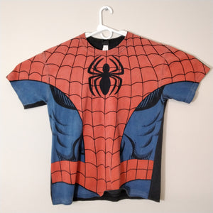Marvel Spiderman All Over Print T-Shirt Mens XL - Beezy's Department Store