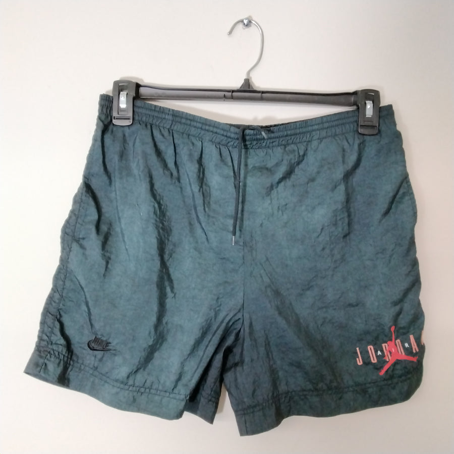Vintage Air Jordan Nylon Shorts Black Boys L - Beezy's Department Store