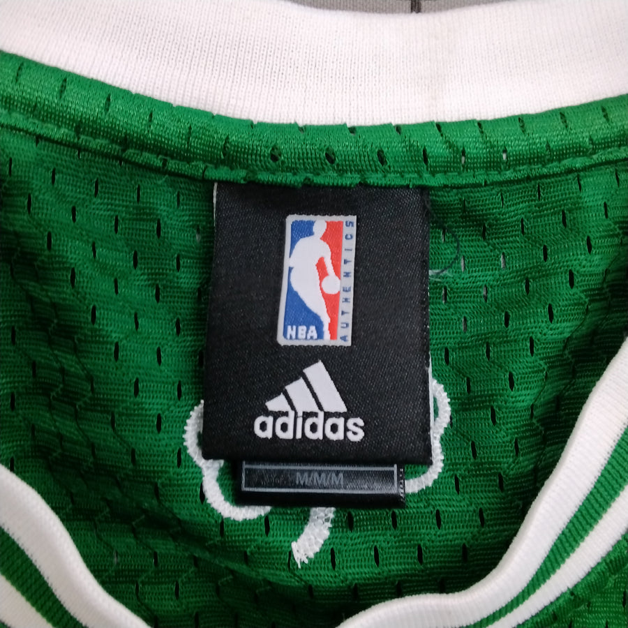 Adidas Swingman Kevin Garnett Celtics Basketball Jersey Green Mens L - Beezy's Department Store