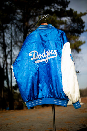 Brooklyn Dodgers Satin Jacket Men XL - Beezy's Department Store