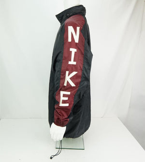 Vintage Nike Windbreaker Center Check Spell Out Men's Half Zip Jacket Back Large - Beezy's Department Store