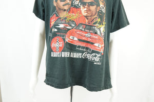 Vintage Dale Earnhardt Chase Authentics T-Shirt Racing Tee Black Mens L - Beezy's Department Store