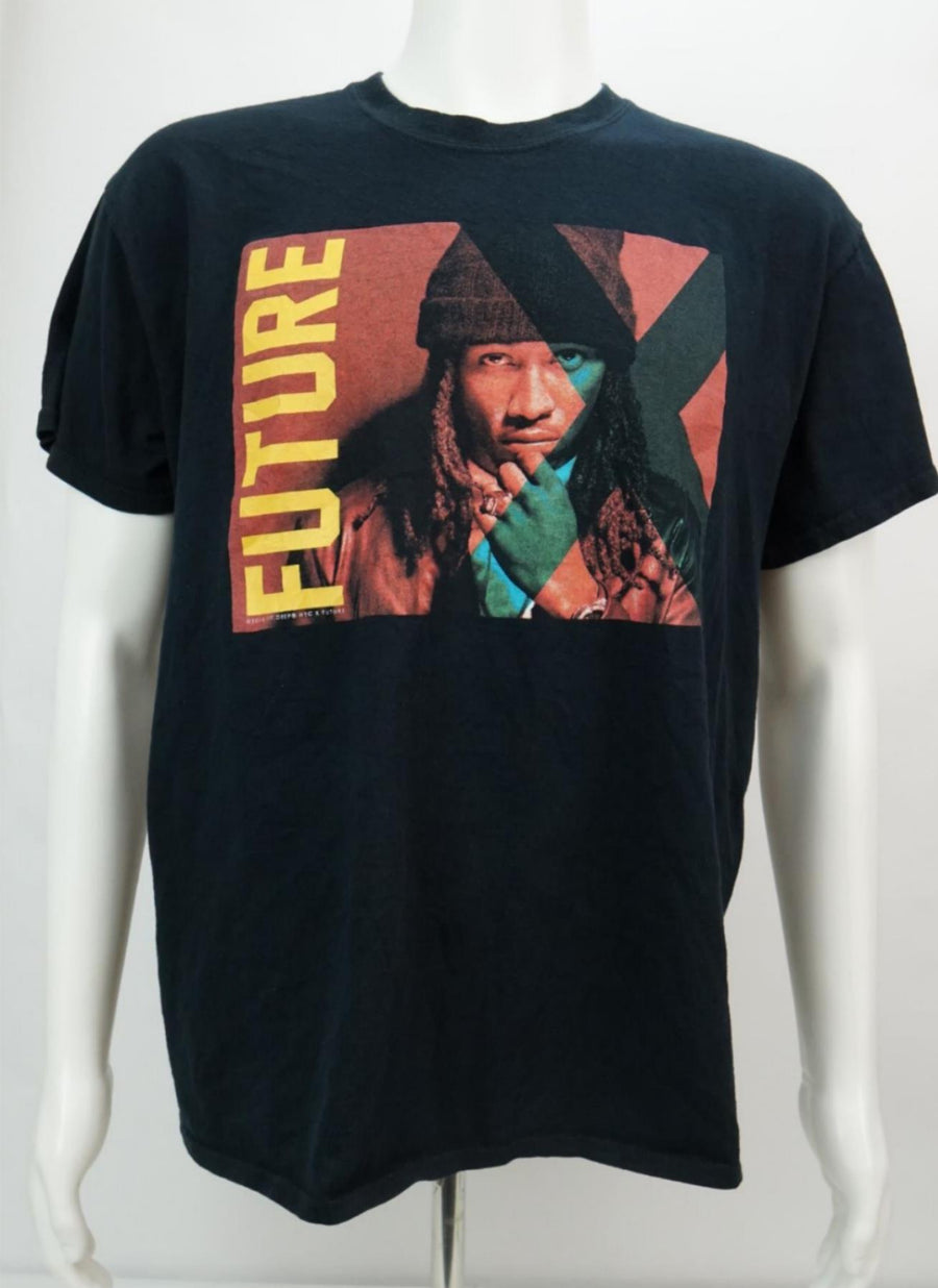 Future Honest Tour Shirt Rap Tee Men's Short Sleeve T-Shirt Black Large - Beezy's Department Store