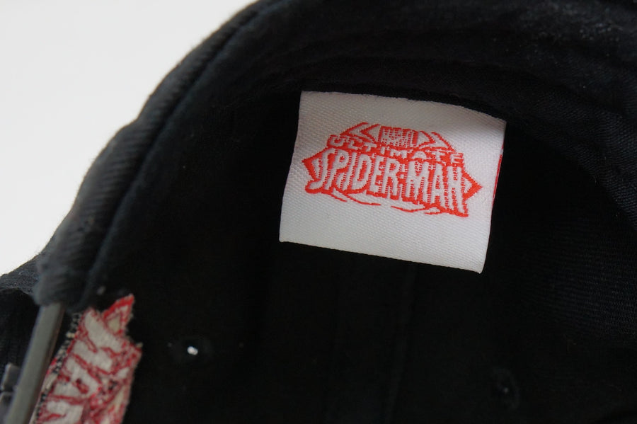 Marvel Spider-Man Baseball Cap Hat Black & Red - Beezy's Department Store