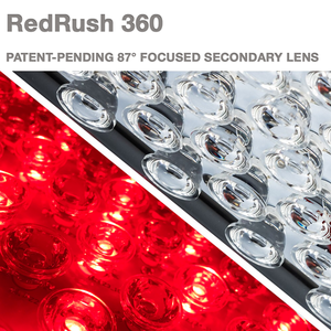 RedRush 360 Body Light (660nm RED & 850nm NIR Combo)