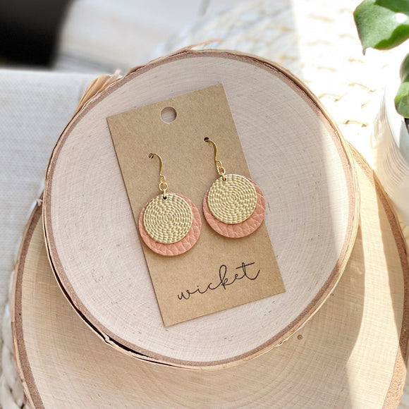 Omi Earrings | Terra Cotta