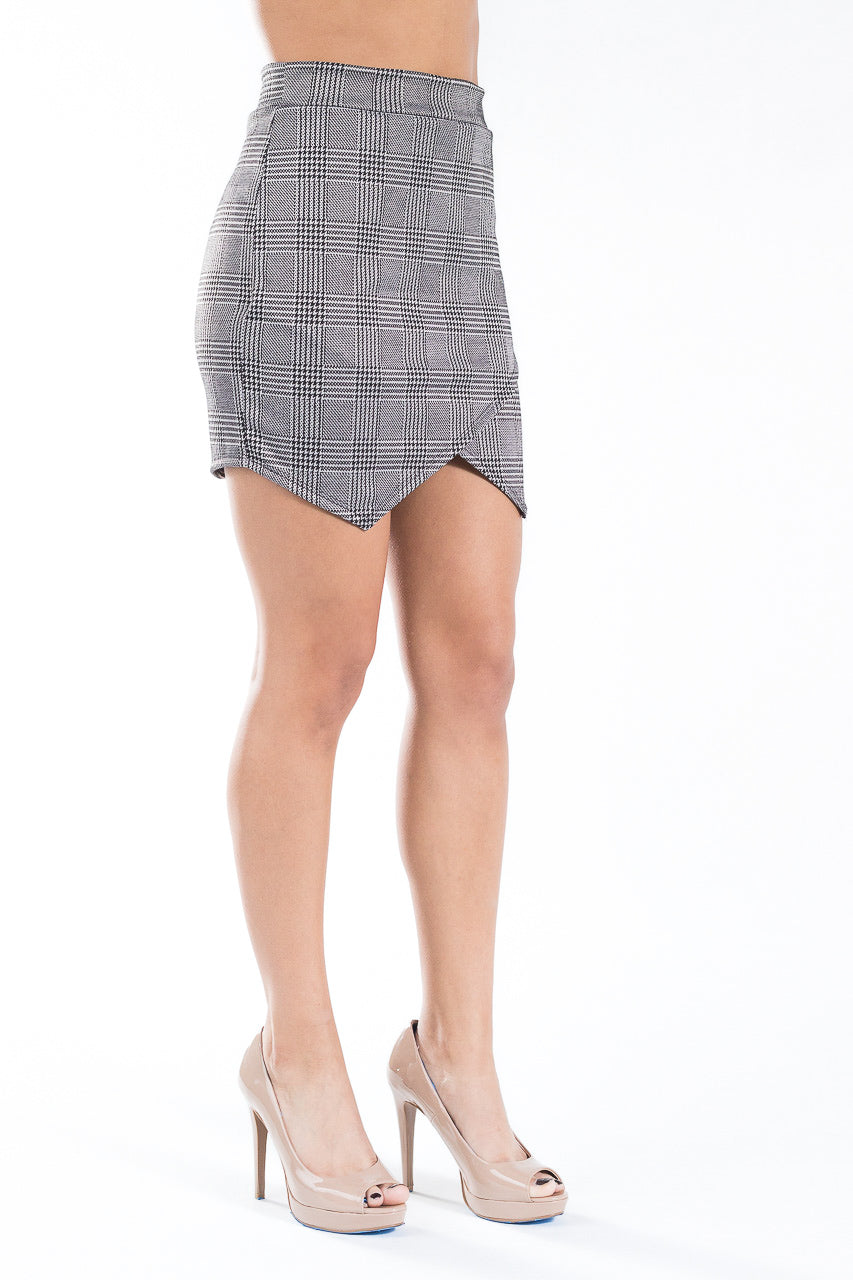 Plaid Love Skirt