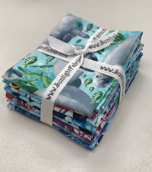 Aquarium Fat Quarter Bundle