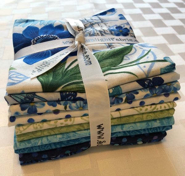 Butterfly Groto fat quarter bundle