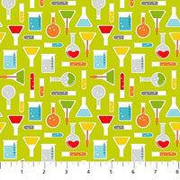 Big Bang Science Beakers Lime