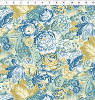 Romance by Jason Yenter Blue Floral