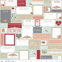 Rustic postcards mint