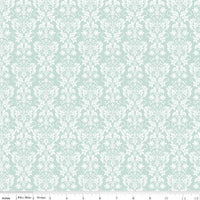 Rustic Damask Mint