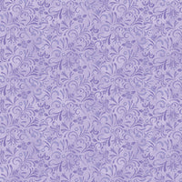 Painterly Swirl Light Purple