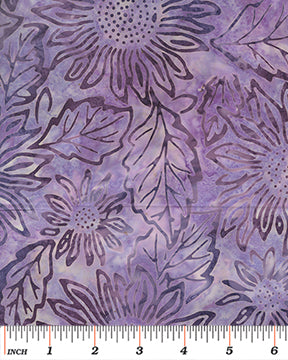 Bali Batik Sunflower Purple