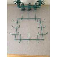 "10"" Square Wreath Form, Heavy Duty Wreath Frame, Square Wreath-Starting Gardens"
