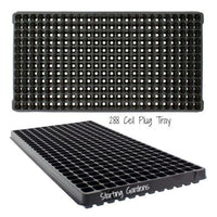 288 Cell Plug Tray, (Qty. 10), Seed Starting Trays, Cloning and Propagating Flat-Starting Gardens