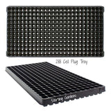 288 Cell Plug Tray, (Qty. 5), Seed Starting Trays, Cloning and Propagating-Starting Gardens