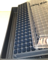Seed Starting Kit (2ea) Seed Trays, 200 Cell Plug trays, Propagation Dome Lids