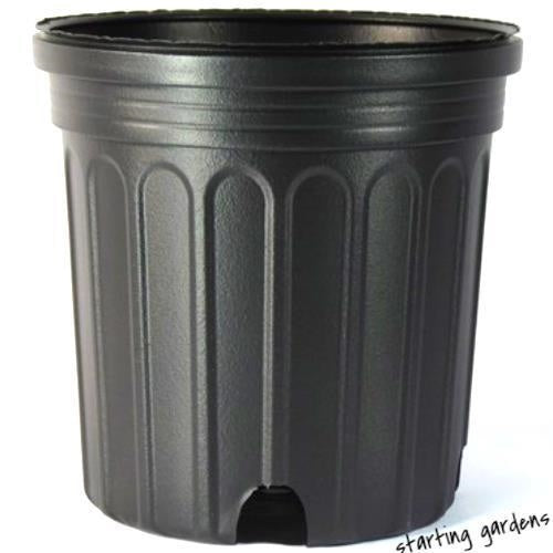 3 Gallon Nursery Pot (Qty.20) Plastic Container, Greenhouse Pot, C1200