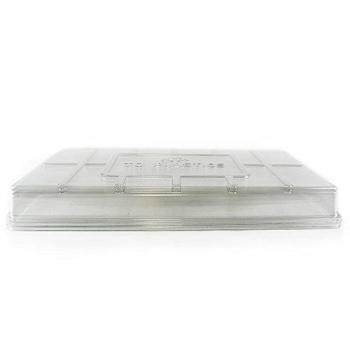 Humidity Dome Lids, Qty. 50,  Clear Plant Germination Dome Lids for 10x20 Trays