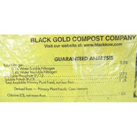 Black Kow, 5lb., Composted Cow Manure-Starting Gardens