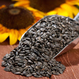 Black Oil Sunflower Seed, (5 lb. Pack), USA Grown, Hand Packed Birdseed