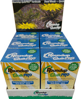 Roundup Quick Pro, Full Case, 30 Packets, Makes 30 Gallons, 73.3% Glyphosate