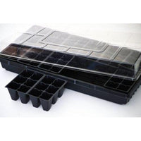 Seed Starter Germination Station Complete Kit w/ Dome, 72 Cell Tray and Growing-Starting Gardens