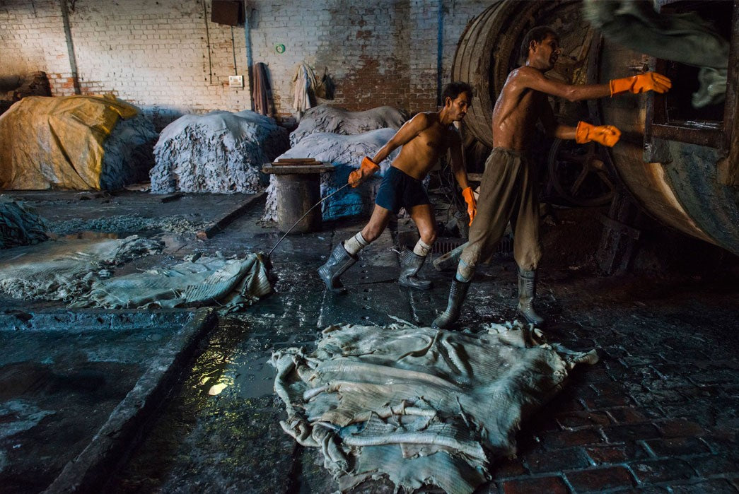 Tannery in Kanpur, India