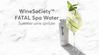 WineSociety 'FATAL' Spa Water