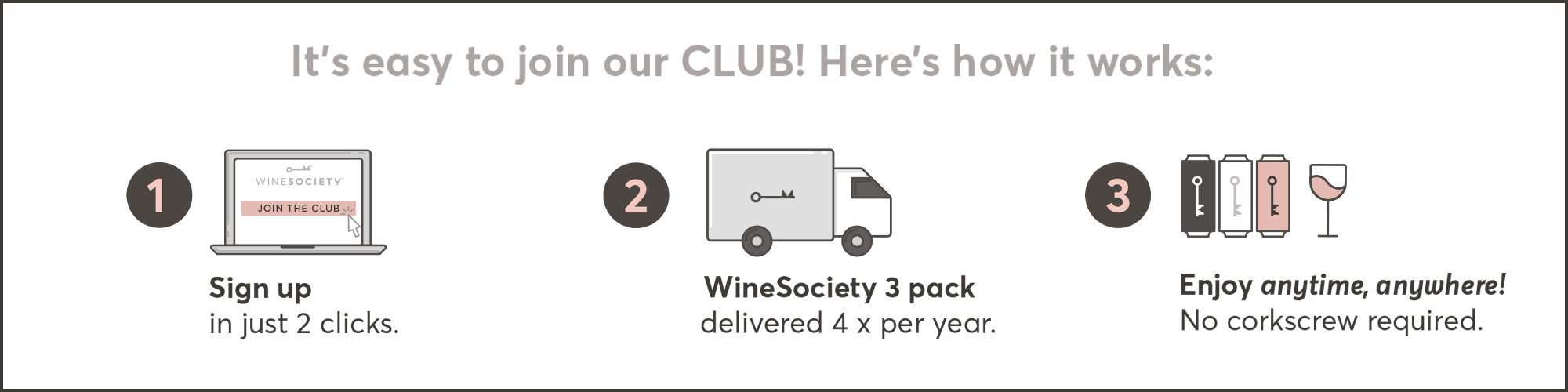 Join CLUB WineSociety