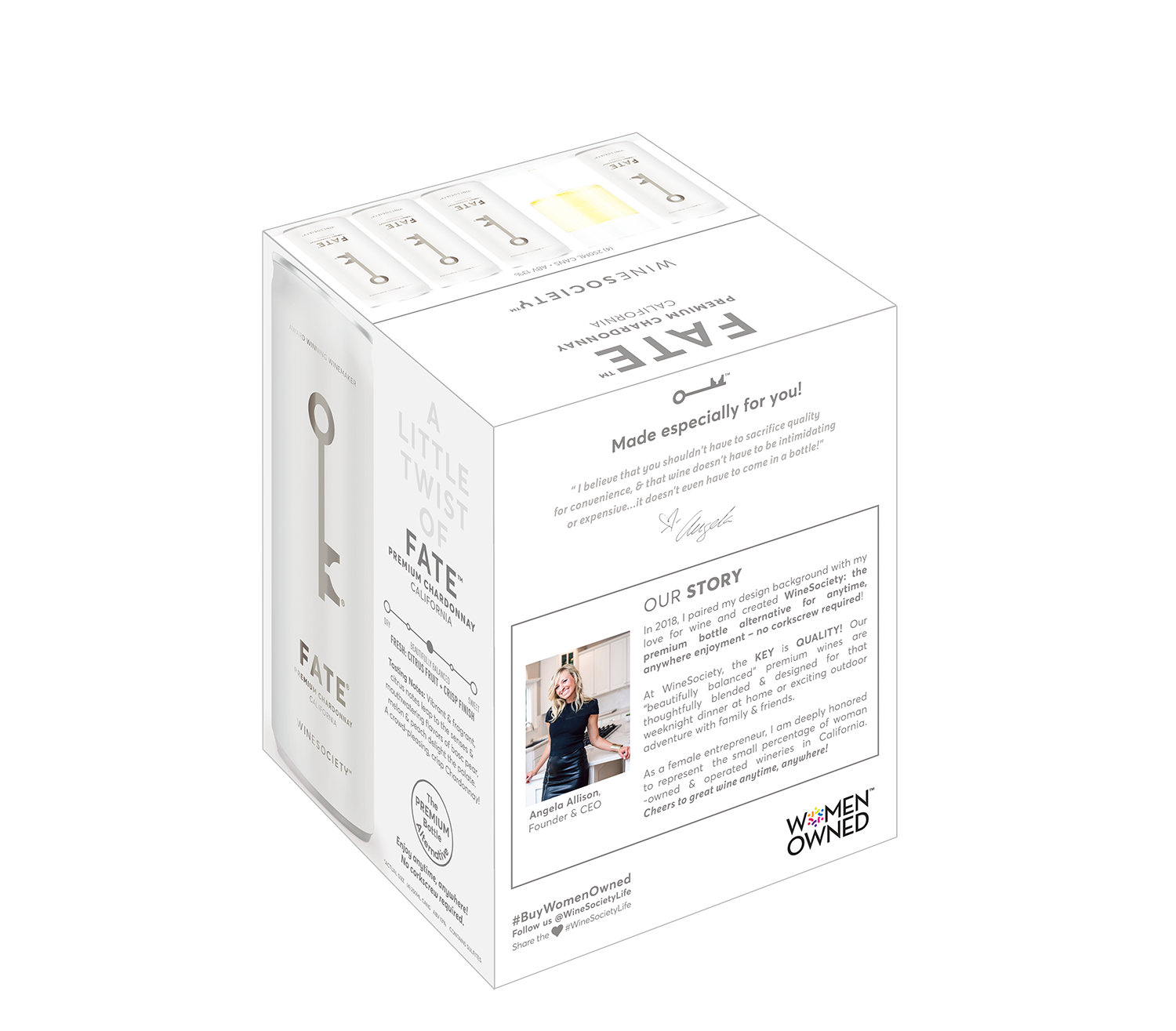 WineSociety FATE 250mL 4-Pack Other Side