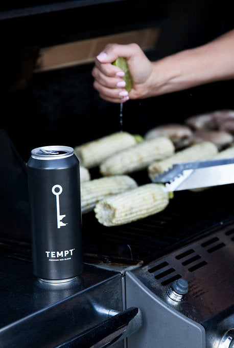 TEMPT can while grilling